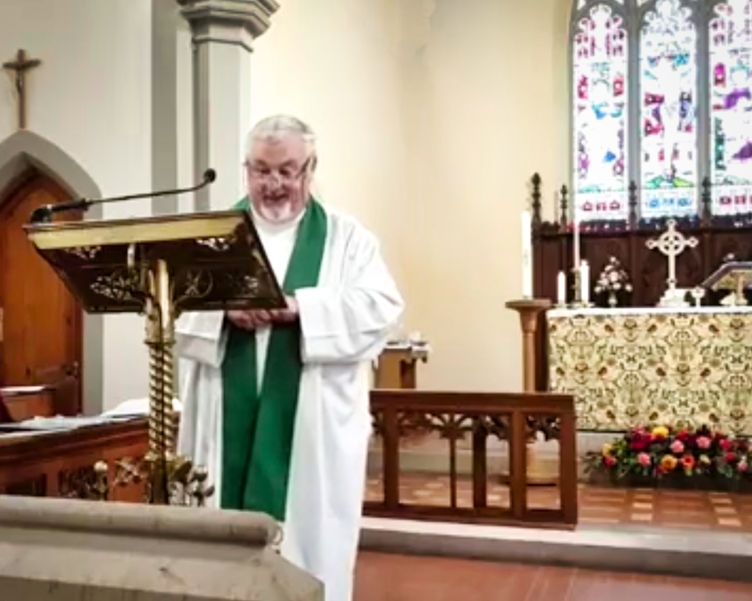Parish Eucharist with Father Brian on Sunday 25th October 2020.