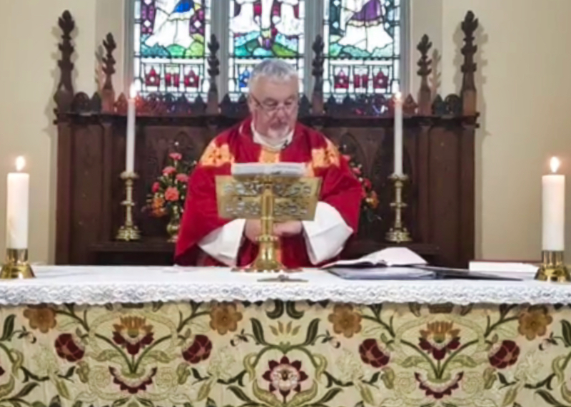 Parish Eucharist with Father Brian. Sunday 18th October 2020.