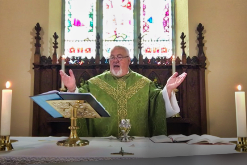 Parish Eucharist with Father Brian on Sunday 13th September 2020.
