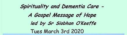 Spirituality and Dementia Care - A Gospel Message of Hope