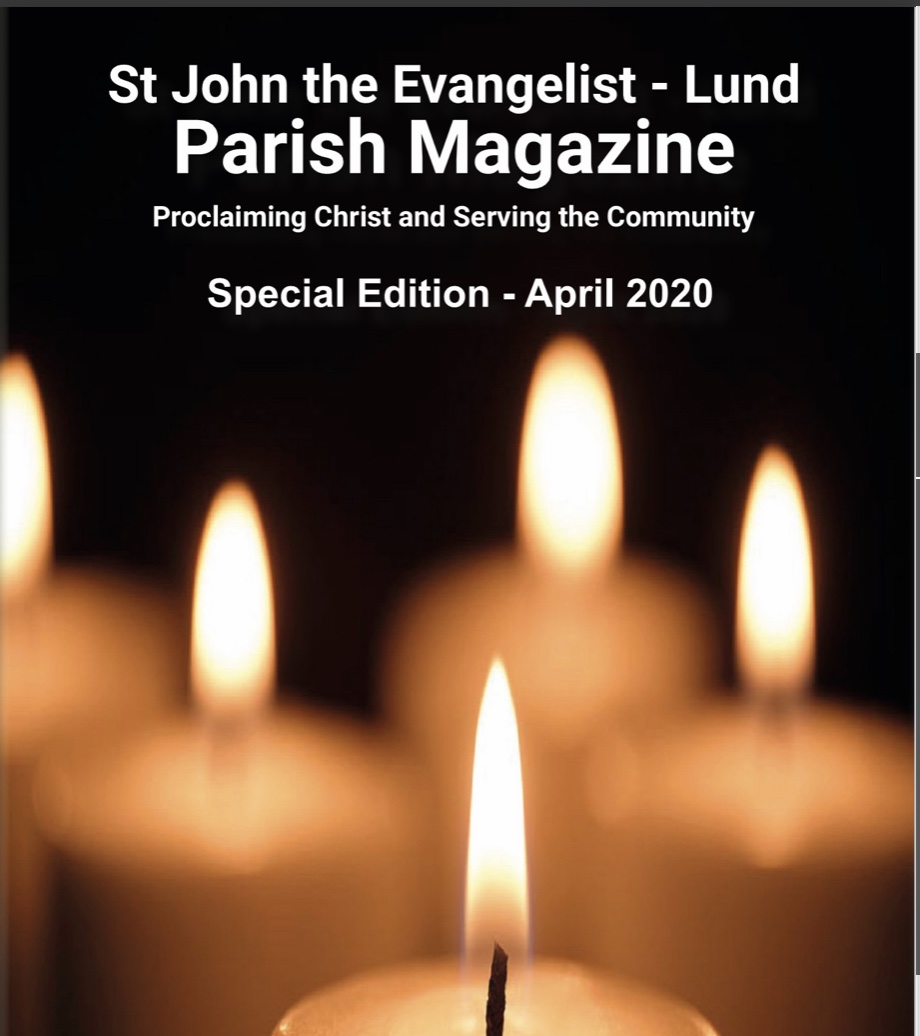 Read SPECIAL APRIL EDITION of our Parish Magazine