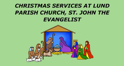 Christmas Services  (Click on READ MORE for details)